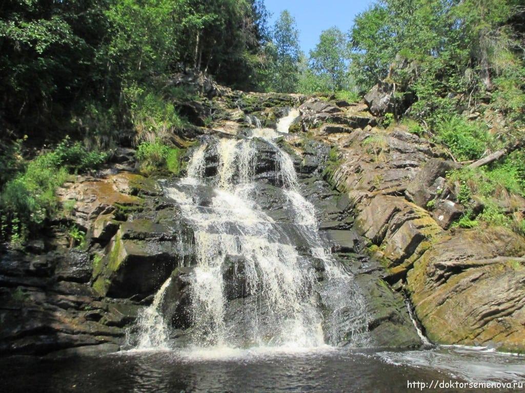 Водопад Юканкоски